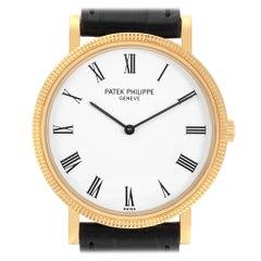 Patek Philippe Calatrava 18 Karat Yellow Gold Automatic Men's Watch 5120