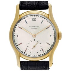 Patek Philippe Calatrava 2406, White Dial, Certified and Warranty