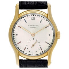 Patek Philippe Calatrava 2406, White Dial, Certified and Warranty