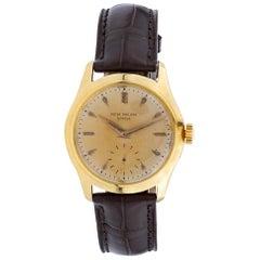 Patek Philippe Calatrava 2532 18 Karat Gold Dial Manual Watch