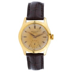 Patek Philippe Calatrava 2532, Gold Dial, Certified and Warranty