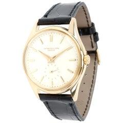 Patek Philippe Calatrava 3428 Men's Watch in 18 Karat Yellow Gold