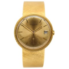 Patek Philippe Calatrava 3445/6, Gold Dial, Certified and Warranty