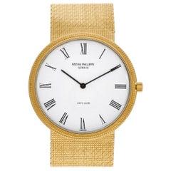 Patek Philippe Calatrava 3520D 18 Karat Yellow Gold Manual Watch