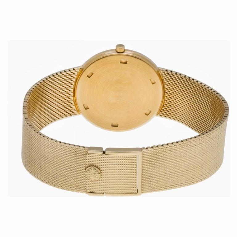 Men's Patek Philippe Calatrava 3520DJ-001, White Dial, Certified