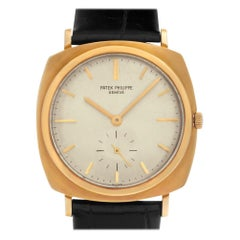 Patek Philippe Calatrava 3525, Color Dial, Certified and Warranty
