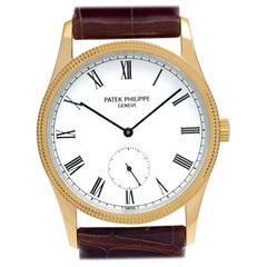 Patek Philippe Calatrava 3796, White Dial, Certified and Warranty