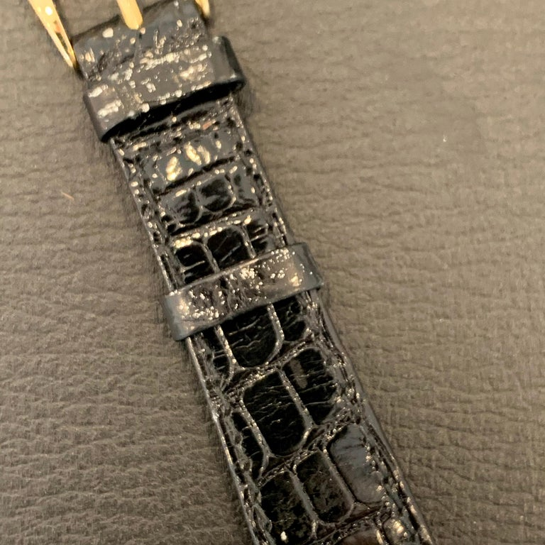 Patek Philippe Calatrava 3802, 18 Karat Gold, White Dial For Sale 4