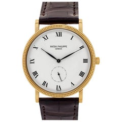 Patek Philippe Calatrava 3919, White Dial, Certified and Warranty