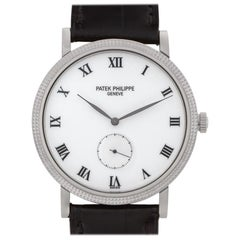 Patek Philippe Calatrava 3919G 18 Karat White Gold Manual Watch