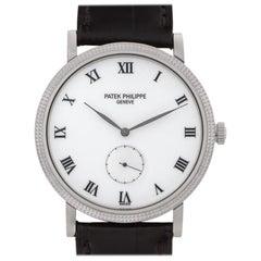 Patek Philippe Calatrava 3919G 18 Karat White Gold Manual Watch