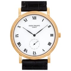 Patek Philippe Calatrava 3919R 18 Karat White Dial Manual Watch