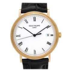 Patek Philippe Calatrava 3944, White Dial, Certified and Warranty