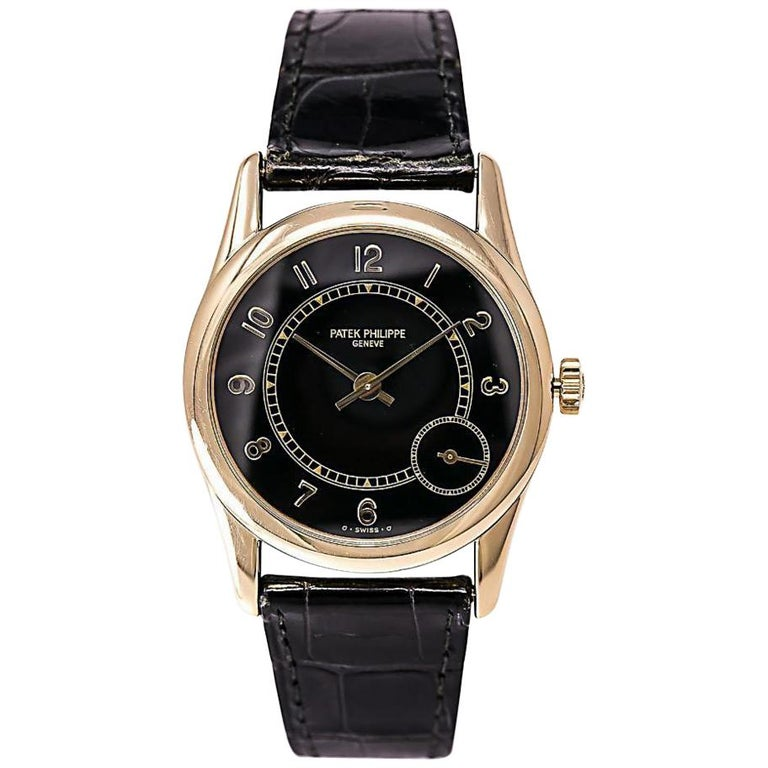 Patek Philippe Calatrava 5000J, Silver Dial, Certified and Warranty For Sale
