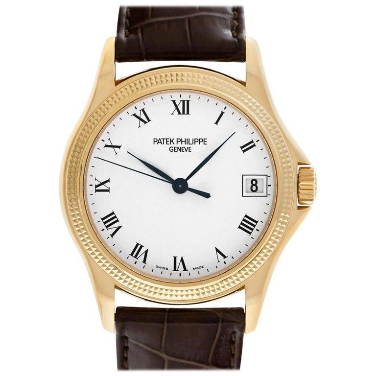 Patek Philippe Calatrava 5117R-001 18 Karat Rose Gold Auto Watch