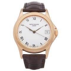 Patek Philippe Calatrava 5117R-001 Men's Rose Gold Watch