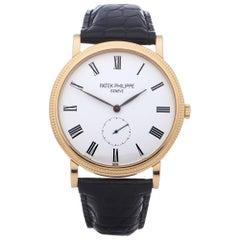 Patek Philippe Calatrava 5119J-001 Men Yellow Gold Watch