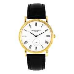 Patek Philippe Calatrava 5119J Tiffany & Co. Dial Yellow Gold Men's Watch