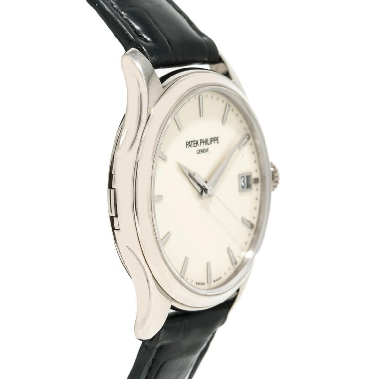 Patek Philippe Calatrava 5227G, Off-White Dial, Certified For Sale 2