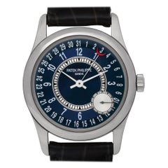 Patek Philippe Calatrava 6000G, Blue Dial, Certified and Warranty