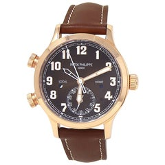 Patek Philippe Calatrava 7234R-001, Brown Dial, Certified