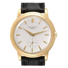 Patek Philippe Calatrava Disco Volante PP Crown Yellow Gold Automatic Vintage