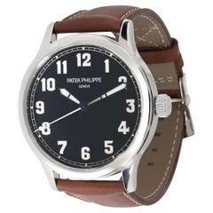 Patek Philippe Calatrava New York 5522A-001 Men's Watch in Stainless Steel