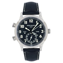 Patek Philippe Calatrava Pilot Travel Time 5524G-001 Watch