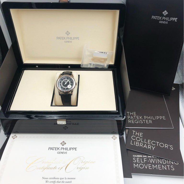 Patek Philippe Calatrava Pointer Date White Gold Automatic Men's Watch 6006G-001 2
