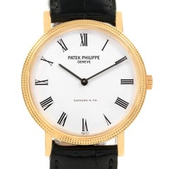 Patek Philippe Calatrava Tiffany & Co. Yellow Gold Automatic Watch 5120