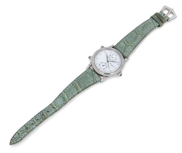 Patek Philippe Calatrava Travel Time Watch 4864G For Sale 1