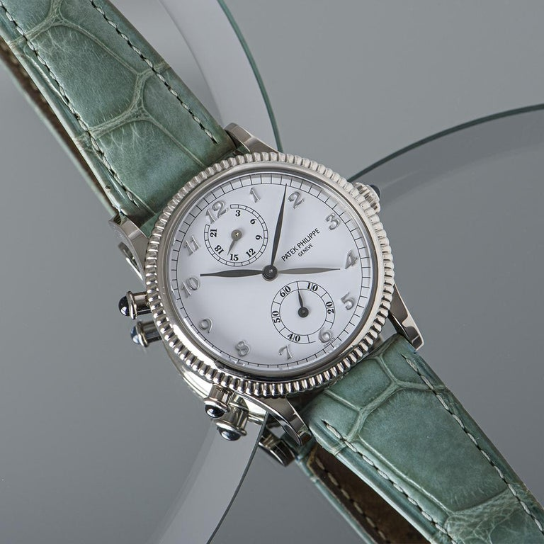 Patek Philippe Calatrava Travel Time Watch 4864G For Sale 3