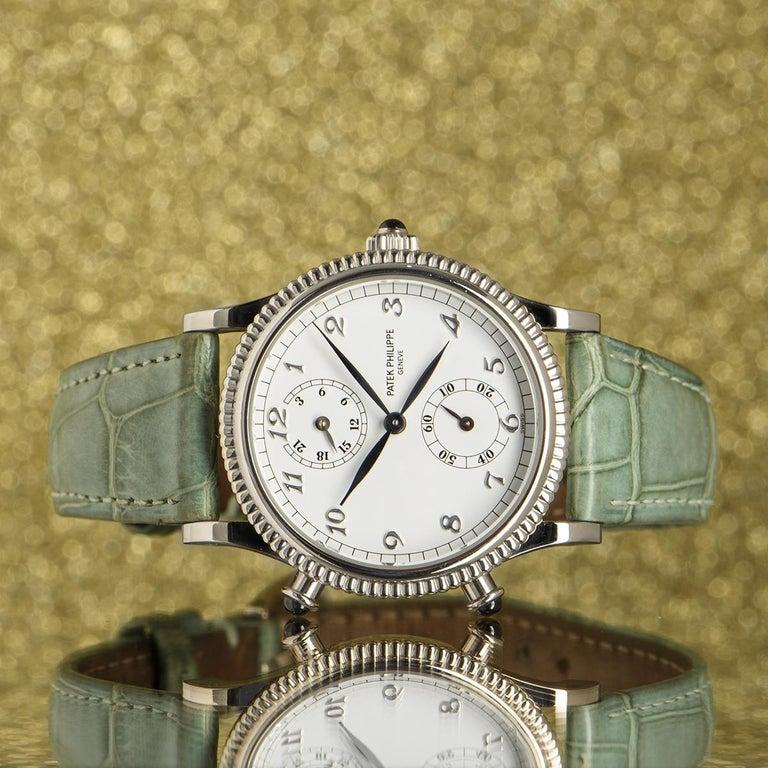 Patek Philippe Calatrava Travel Time Watch 4864G For Sale 4