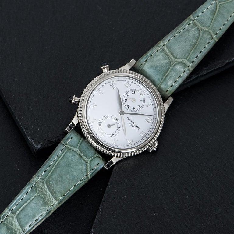 Patek Philippe Calatrava Travel Time Watch 4864G For Sale 5