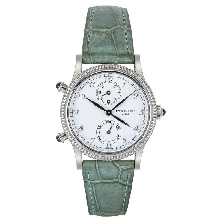 Patek Philippe Calatrava Travel Time Watch 4864G For Sale