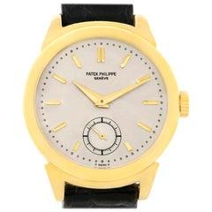 Patek Philippe Calatrava Vintage 18 Karat Yellow Gold Watch 1491 Year 1947