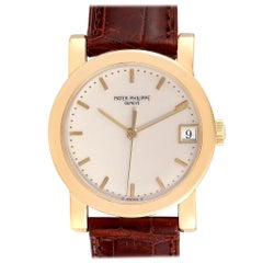 Patek Philippe Calatrava Yellow Gold Automatic Men's Watch 5012 Papers