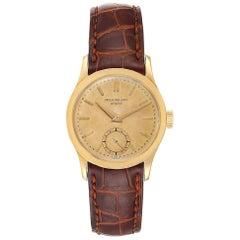 Patek Philippe Calatrava Yellow Gold Vintage Men's Watch 2545