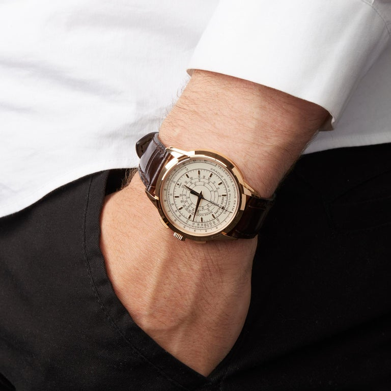 Patek Philippe Chronograph 175th Anniversary 5975R-001 Owned By Eric Clapton For Sale 6