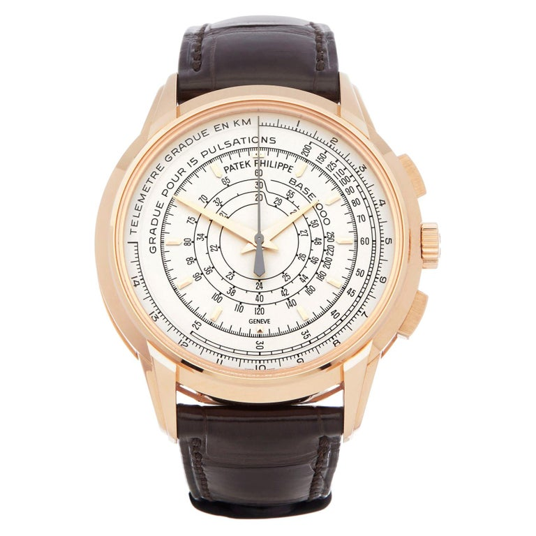 Patek Philippe Chronograph 175th Anniversary 5975R-001 Owned By Eric Clapton For Sale