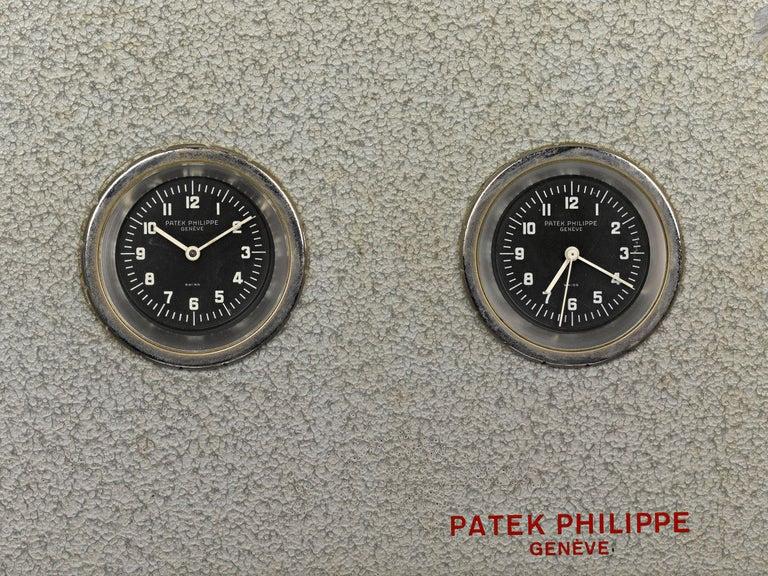 Swiss Patek Philippe Chronoquartz Electronic Wall Clock For Sale