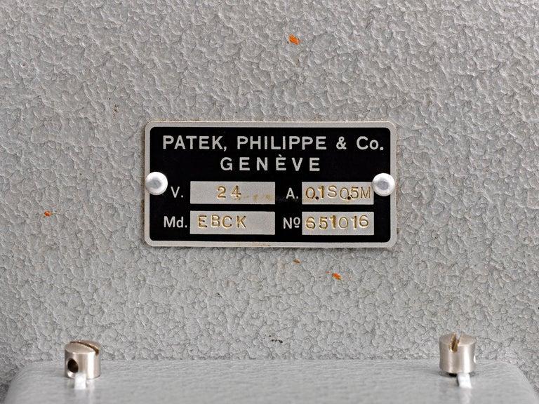 20th Century Patek Philippe Chronoquartz Electronic Wall Clock For Sale