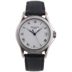 Patek Philippe & Co. Genève Automatic Ref. 5117 White Gold Wristwatch