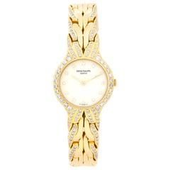 Patek Philippe & Co. La Flamme 18 Karat Yellow Gold Watch Ref 4816