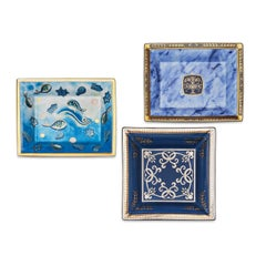 Patek Philippe Commemorative Limited Edition Limoge Porcelain Trays