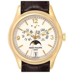 Patek Philippe Complicated Annual Calendar Yellow Gold Men's Watch 5146