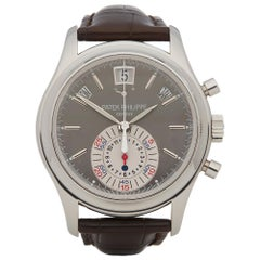 Patek Philippe Complication Annual Calendar Flyback Chronograph Platinum 5960P