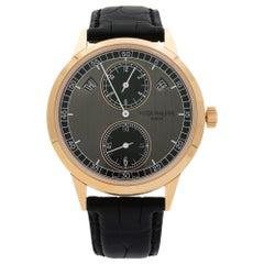 Patek Philippe Complications 18 Karat Gold Grey Automatic Men Watch 5235/50R-001