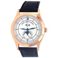 Patek Philippe Complications 5396R-001; Black Dial, Certified