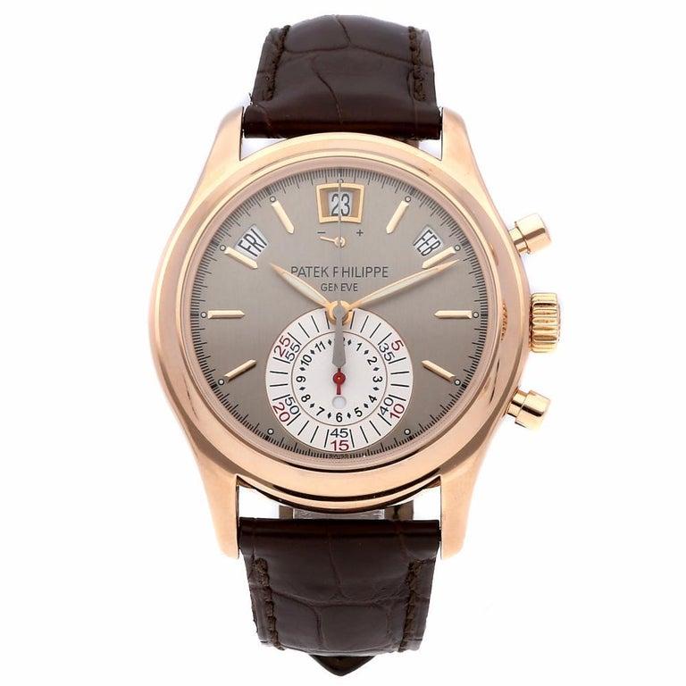 Women's Patek Philippe Complications Annual Calendar Chronograph Watch 5960R-001 For Sale